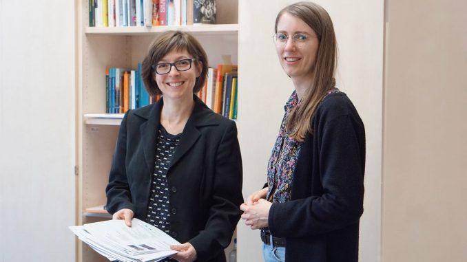 Prof. Nathalie Mälzer und Maria Wünsche