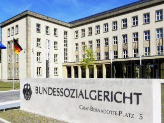 Eingang Bundessozialgericht Kassel