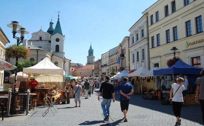 Stadtzentrum Lublin