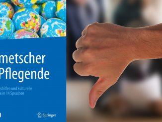 """ÜbeLsetzung des Jahres: """"Dolmetscher für Pflegende"""""""