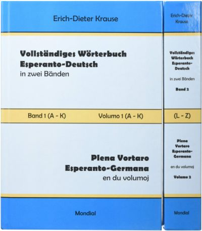 Vollständiges Wörterbuch Esperanto - Deutsch
