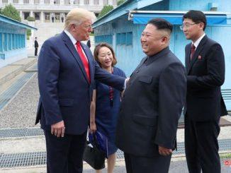 Trump, Dolmetscherin, Kim, Dolmetscher