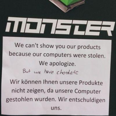 Computer gestohlen