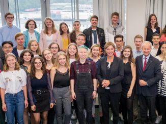 Bundeswettbewerb Fremdsprachen, Gruppenbild