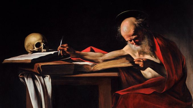Hieronymus, Caravaggio