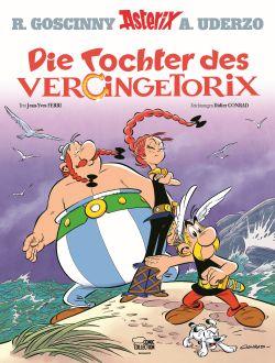 """Titelseite """"Die Tochter des Vercingetorix"""""""