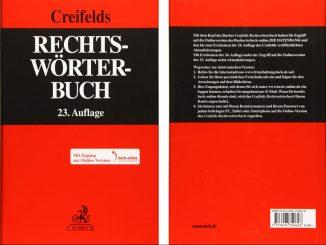 Rechtswörterbuch Creifelds