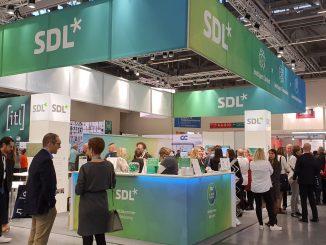 SDL-Stand auf der tekom-Jahrestagung 2019