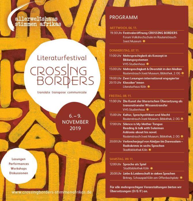 Plakat, Programm