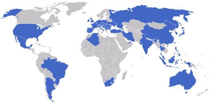 Länder mit ZF-Niederlassungen