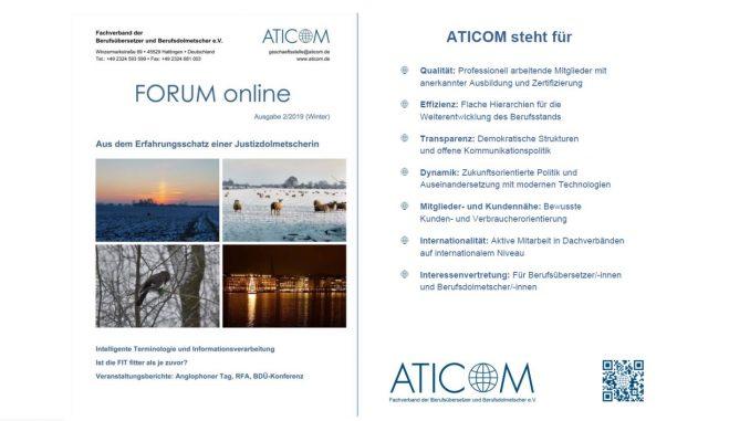 ATICOM-Forum 2/2019