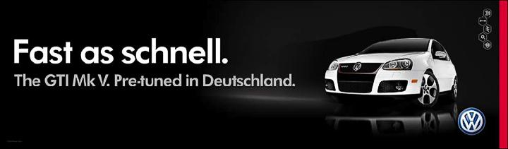 VW-Banner