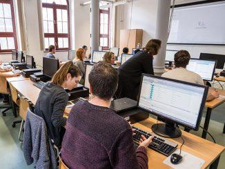 Computerraum Hochschule Anhalt, Köthen