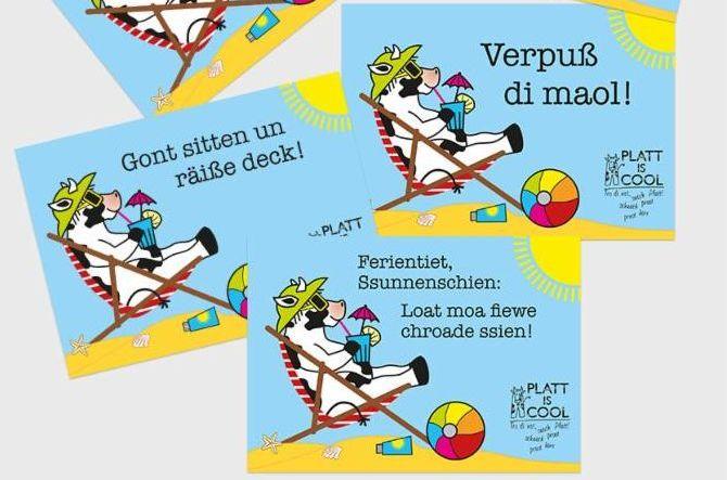 Postkarten Plattdeutsch