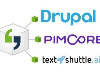 Across-Schnittstelle Drupal, Pimcore, TextShuttle