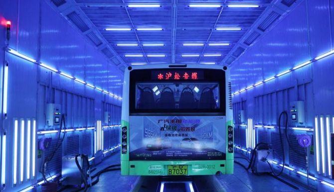 Bus Schanghai