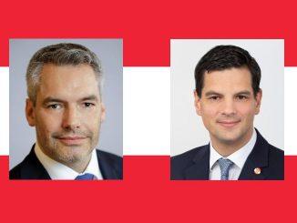 Karl Nehammer, Hannes Amesbauer