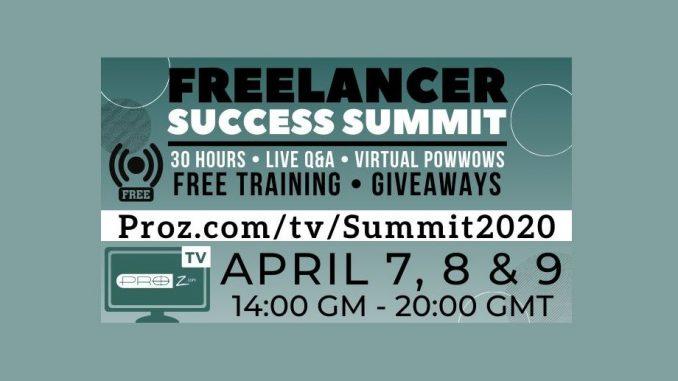 ProZ Freelancer Success Summit