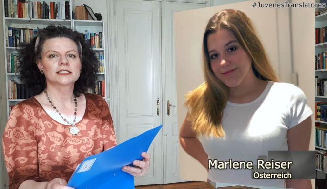 Juvenes Translatores, Marlene Reiser