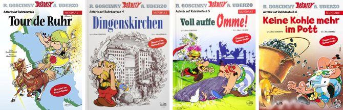 Asterix-Übersetzungen Hennes Bender