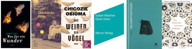 Internationaler Literaturpreis 2020
