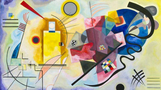 Wassily Kandinsky: Gelb, Rot, Blau