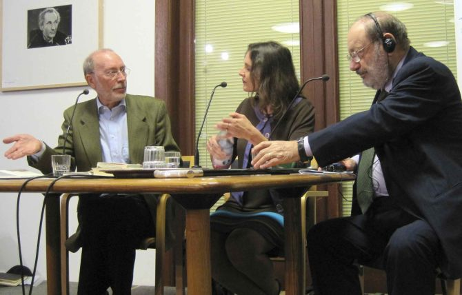 Burkhart Kroeber, Umberto Eco