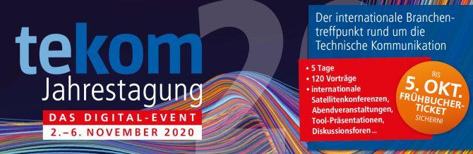 tekom-Jahrestagung 2020