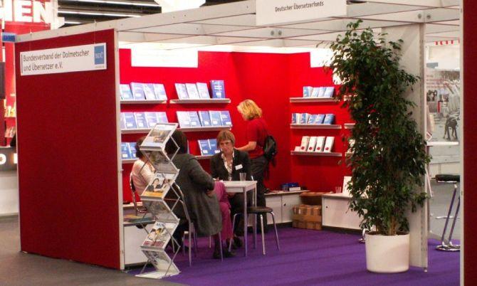 BDÜ-Stand Frankfurter Buchmesse