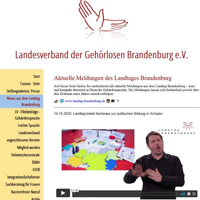 Gehörlosenverband Brandenburg