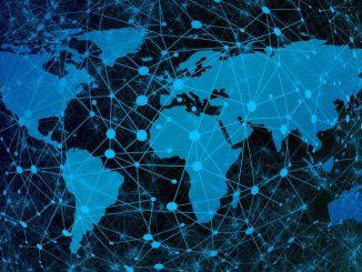 Vernetzung Welt