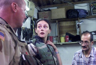 Militärdolmetscherin Irak