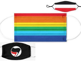Regenbogen-Maske