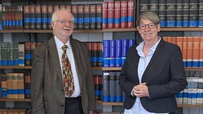 Claus Sprick, Barbara Hendricks