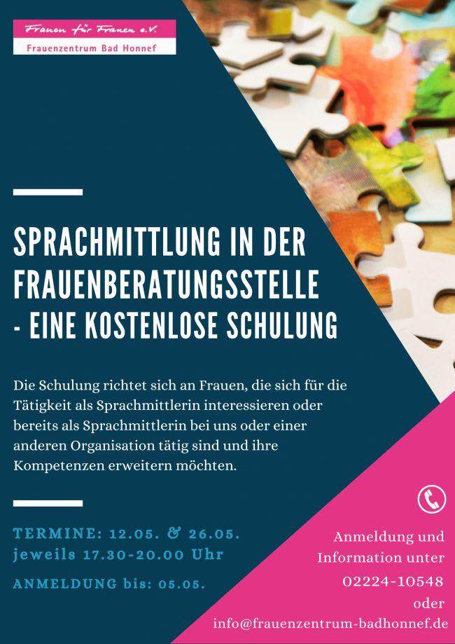 Sprachmittlerschulung Bad Honnef