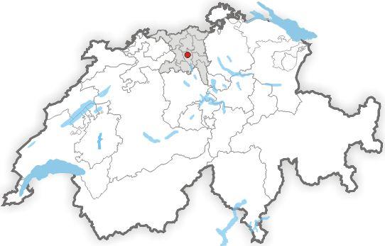 Lage Lenzburg