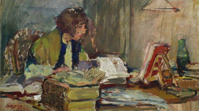 Hans Bayens: Porträt der Literaturübersetzerin Thérèse Cornips