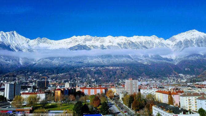 Innsbruck, Berge