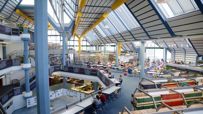 Universität Trier, Bibliothek