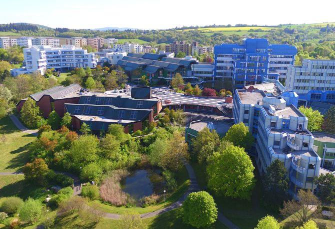 Universität Trier, Campus