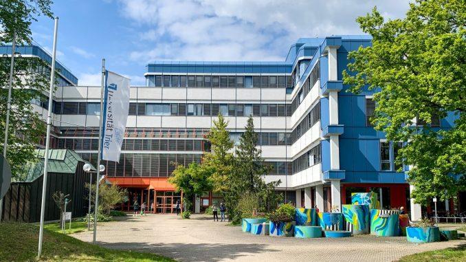 Universität Trier, Haupteingang
