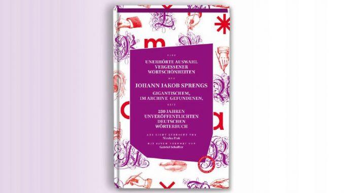 Wörterbuch Johann Jakob Spreng